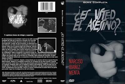 Cover, Caratula, Dvd: ¿Es usted el asesino?