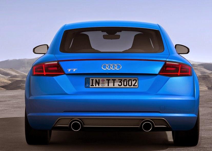 2016 Audi S6 rear View