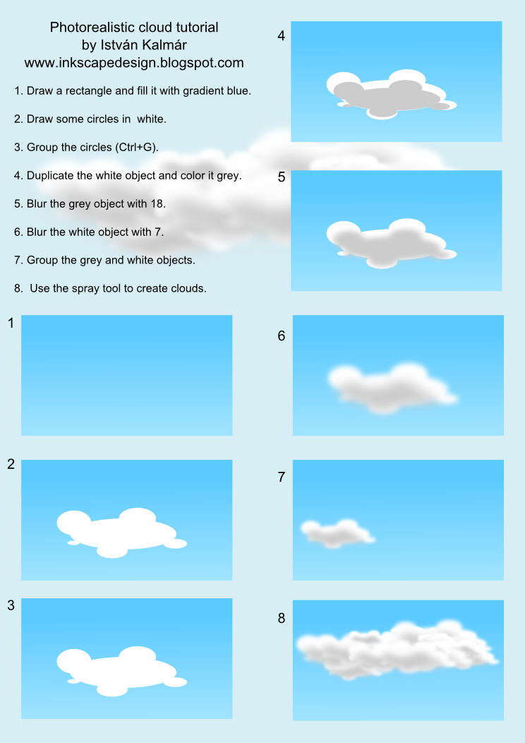Cloud Designs Drawings How to Draw a Cloud in