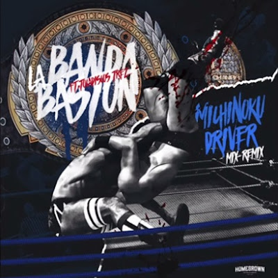 La Banda Bastön feat. Tocadiscos Trez - Michinoku Driver (Mix-Remix) (Single) [2015]