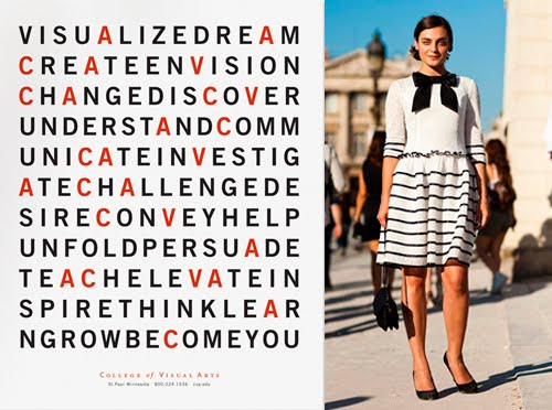 fashion inspiration from the streets of Paris, typography poster inspiration, Lovely Black and White Stripe bow dress