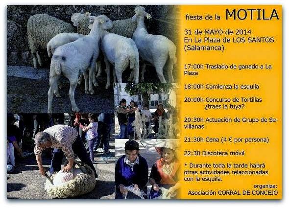 31/Mayo. Fiesta de la Motila. Los Santos