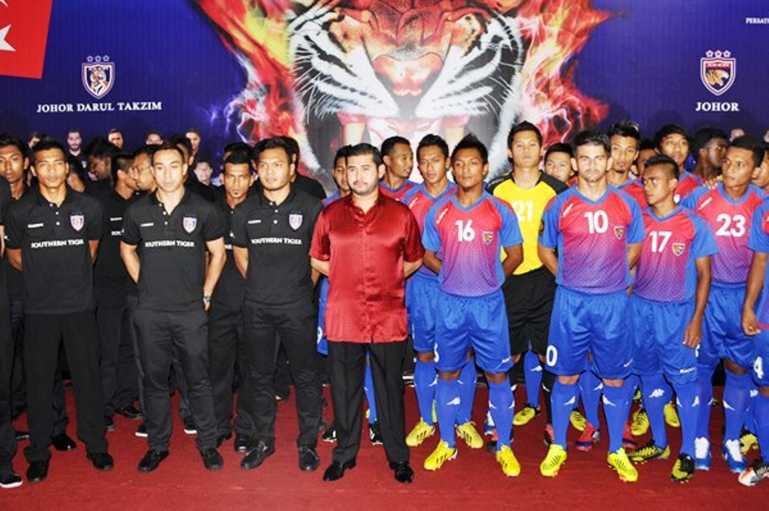 kepada keputusan pengurusan Persatuan Bola sepak Negeri Johor (PBNJ