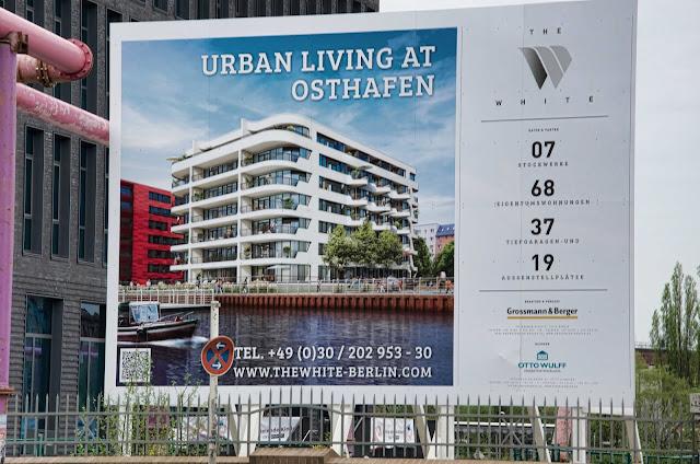 Baustelle Urban Living at Osthafen, Stralauer Allee 36, 10245 Berlin, 11.04.2014