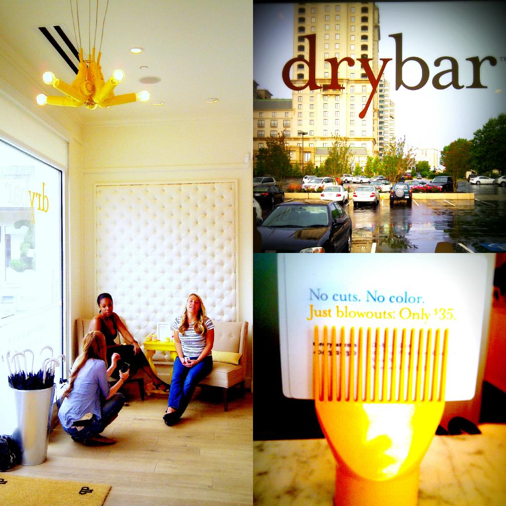 First impressions the atlanta drybar salon the bluebird for 1st impressions salon