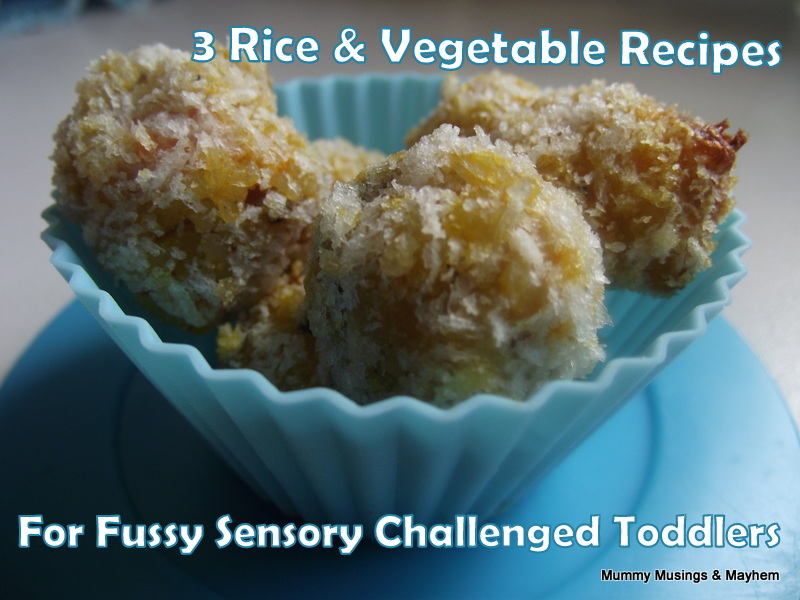 3 Rice Recipes For Fussy Toddlers