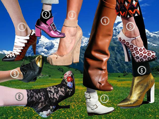 Los 9 zapatos que amarás y exigirás clonación