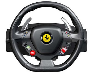 Ferrari 458 Italia steering wheel
