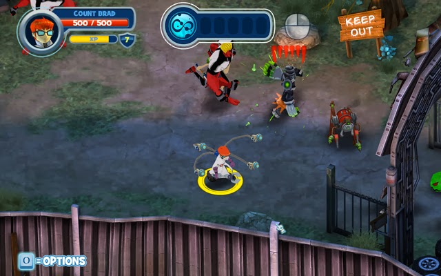 Fusion Fall Heroes Fantasy, Action MMO