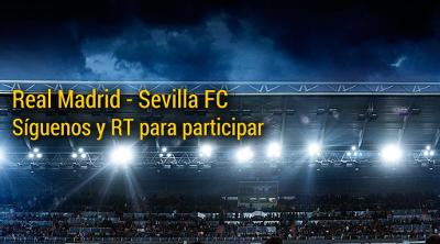 bwin sorteo dos entradas para Real Madrid vs Sevilla 2 febrero