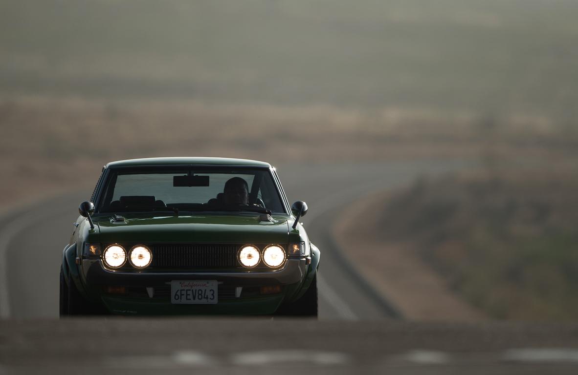 klasyki, nostalgic, oldschool, stara motoryzacja, z duszą, Toyota Celica, old car, zdjęcia, zielony, przód, reflektory, green, badass car, TA20, TA22, TA23, TA35, RA20, RA21, RA23, RA35, RA22, RA24