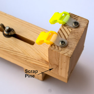 Imitation EZ Jigs made with Scrap Pine & only come with 12mm buckles