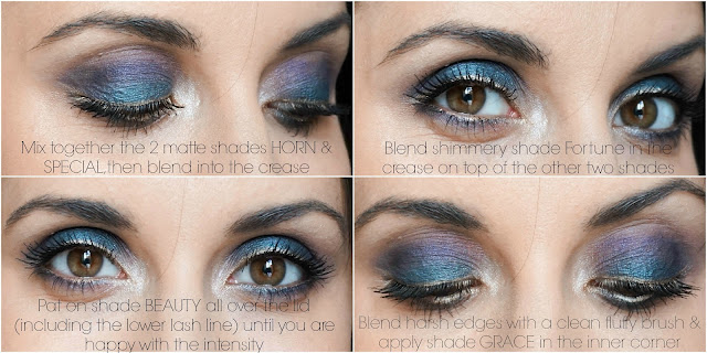 Peacock Eyes Makeup Tutorial