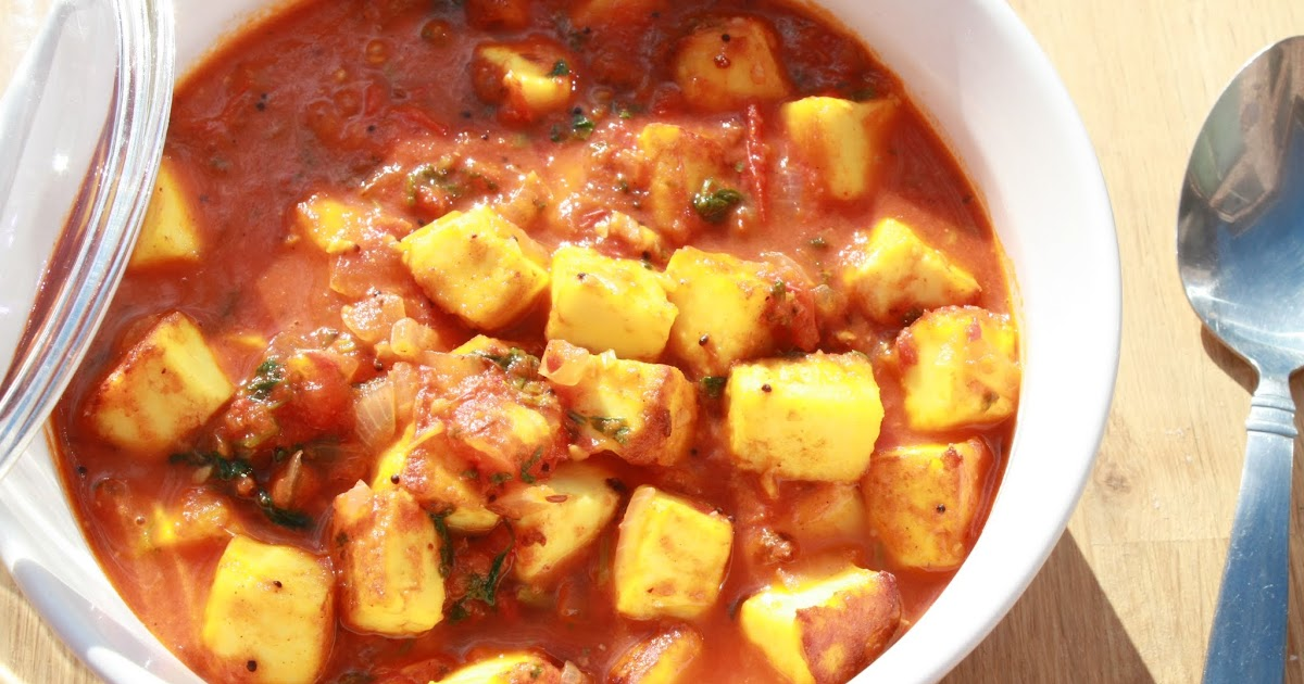 how to cook paneer curry