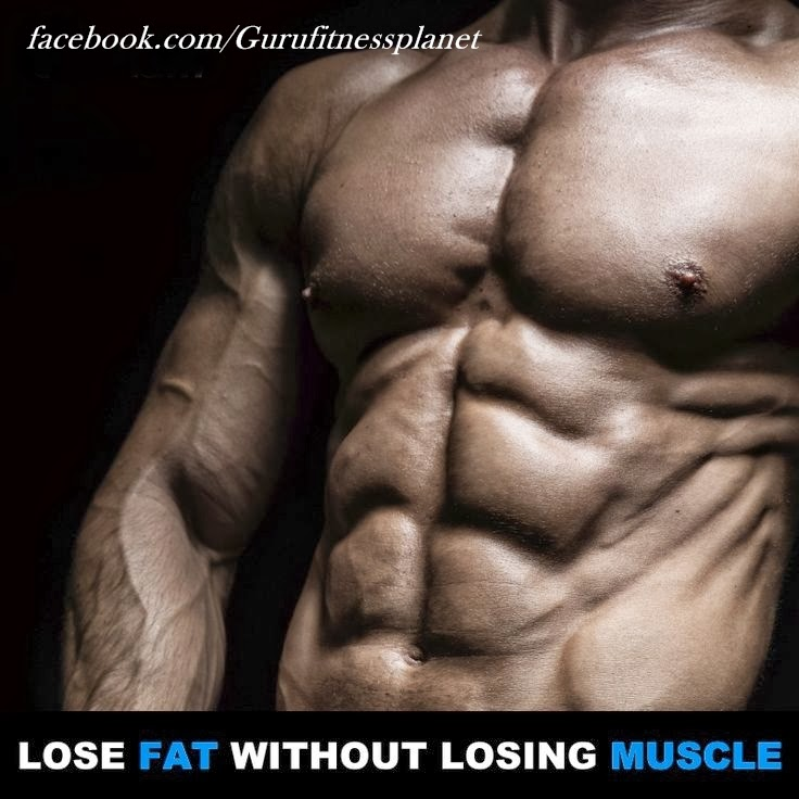 How to Lose Body Fat Without Losing Muscle - Fitness