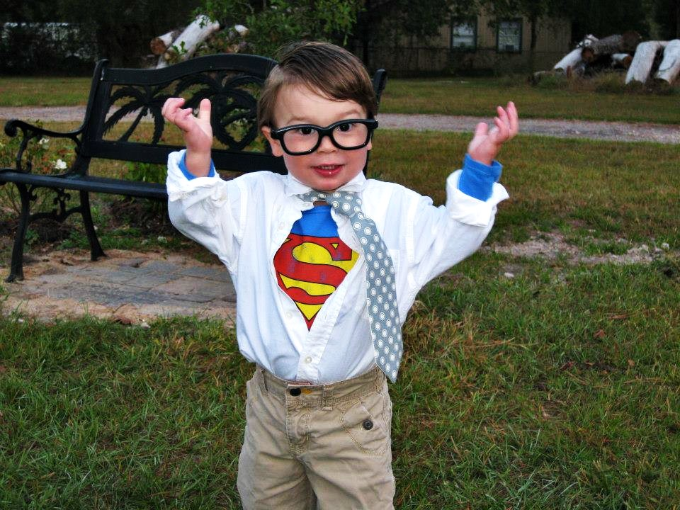 Blame It On The Toes  sc 1 st  Blame It On The Toes & Jettu0027s Toddler Clark Kent Costume