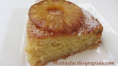 Tarta de piña - Pinaple cake