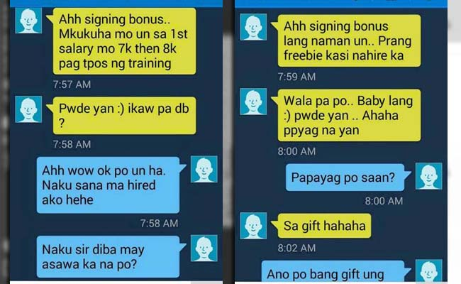 Screenshot of Single Mom's Conversation With The Recruiter Went Viral #BoyGiftWrap