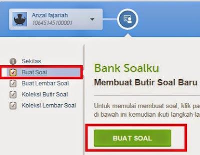gambar 3 cara Membuat Soal Online Lewat Layanan Siap Bank Soal
