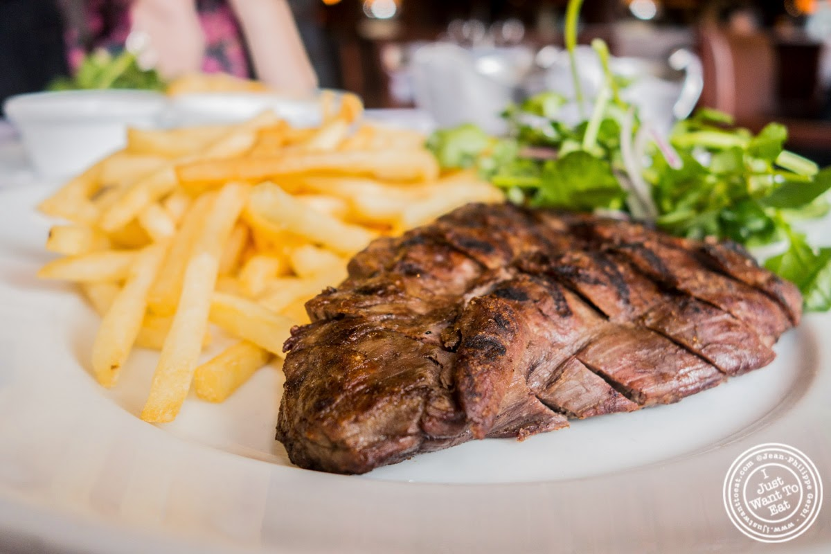 image of steak frites at Porterhouse in New York, NY