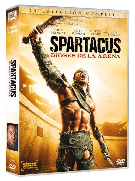 DVD-Crítica de Spartacus: Dioses de la arena (Spartacus: Gods of the ...