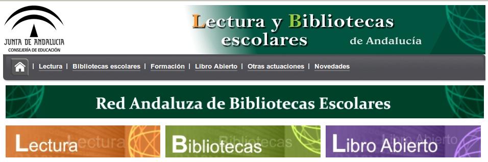 Lectura y Bibliotecas Escolares en Andalucía