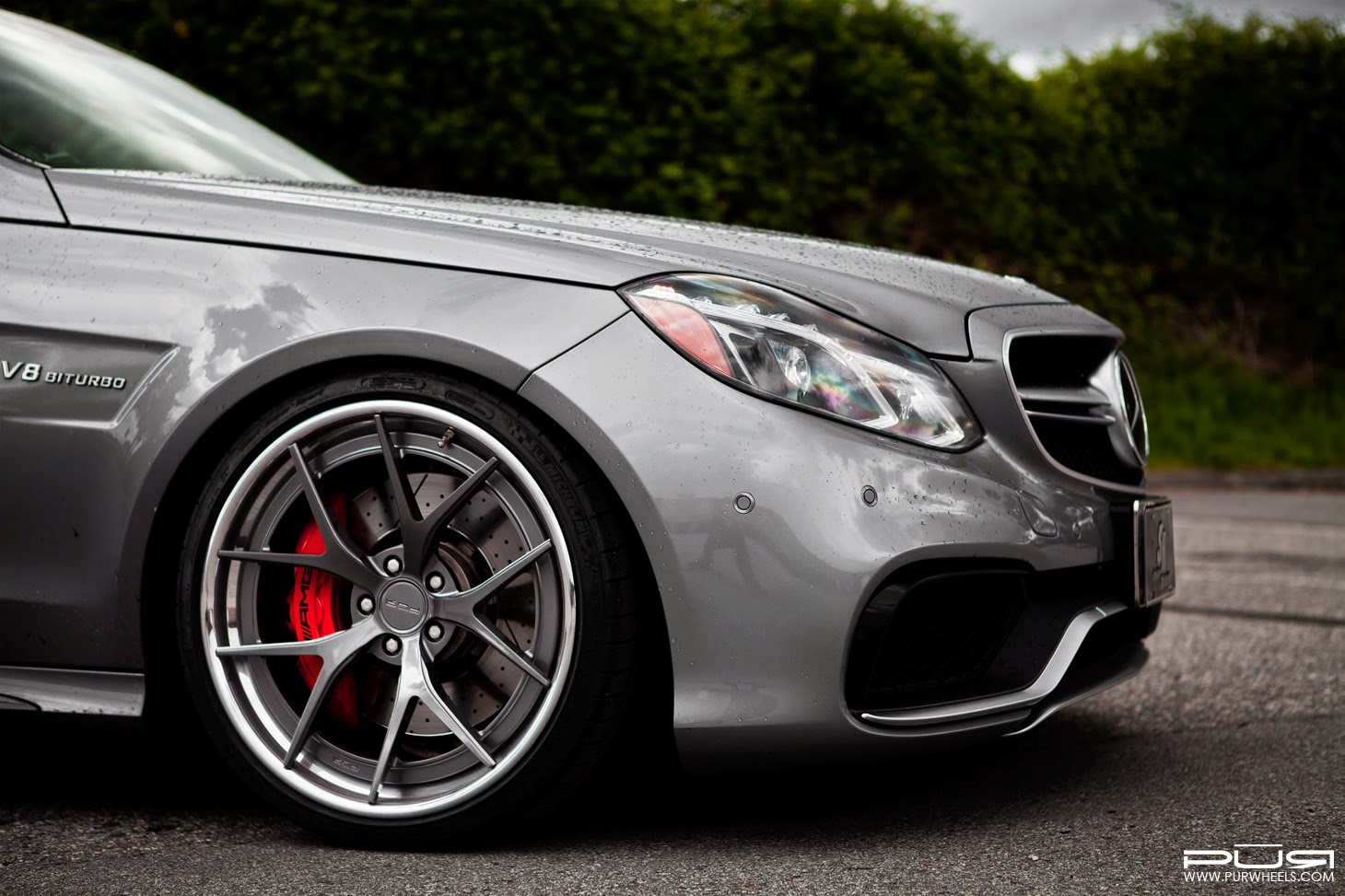 Mercedes benz w212 e63 amg facelift on pur wheels benztuning for Wheels for mercedes benz