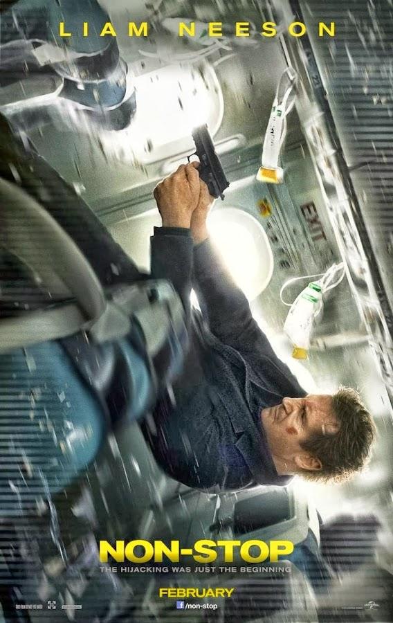 ตัวอย่างหนังใหม่ : Non-Stop (เที่ยวบินระทึก ยึดเหนือฟ้า) ซับไทย poster