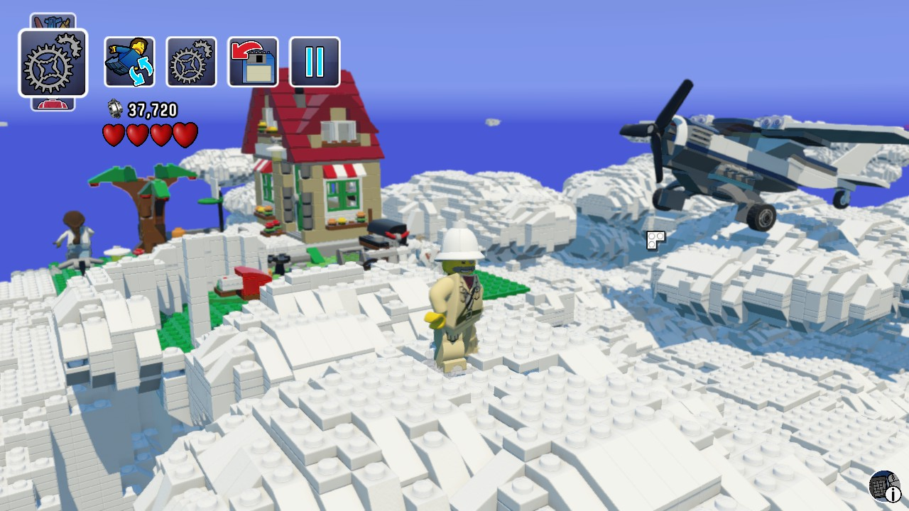 A german geek lego worlds could be glorious with mods building a house on a cloud worked though gumiabroncs Gallery