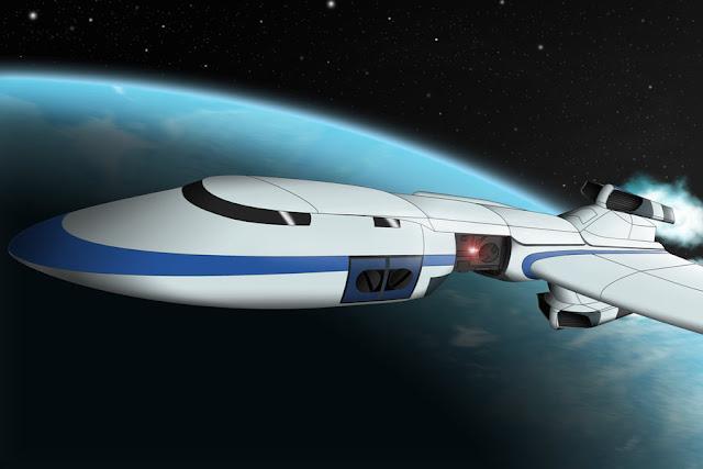 GalaxyRangersSpaceshipPhoenix por WinilixuS