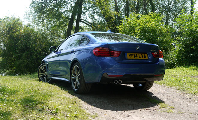 BMW 4-Series Gran Coupe rear view