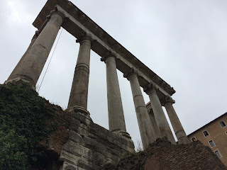 Vestige Temple de SAturne - Forum - Rome