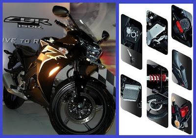 Honda CBR 150R cc Motor Harga Spesifikasi terbaru 2013