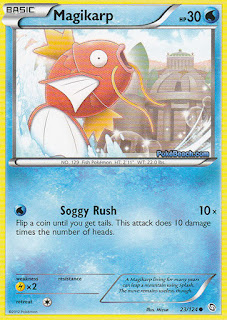 Magikarp Dragons Exalted Pokemon Card