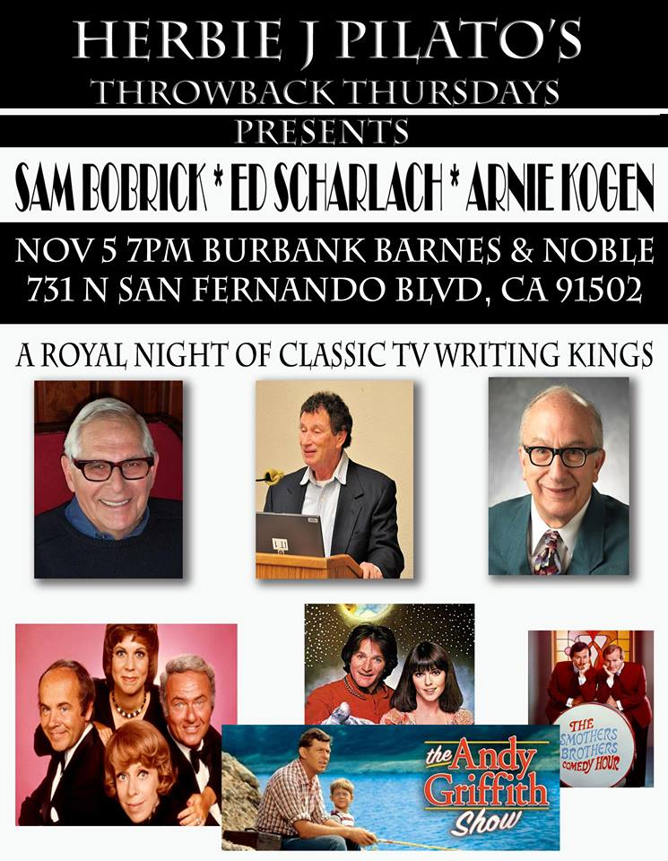 """A Royal Night of Classic TV Writing Kings"""
