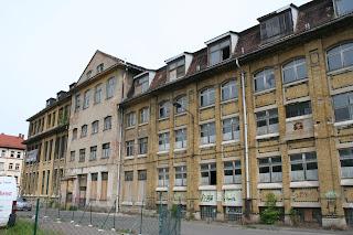 Fabrik Christian Mansfeld an der Riesaer Strasse