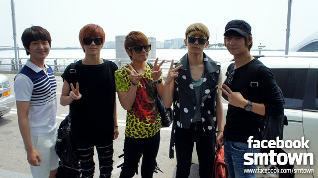 Shinee airport style 2011