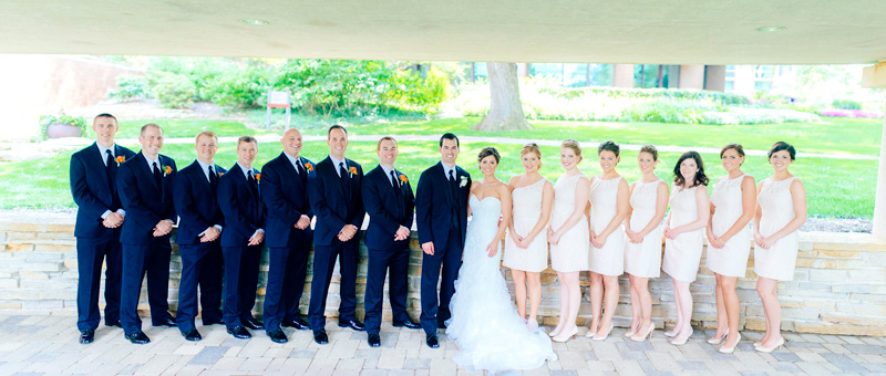 Bridal Party pano