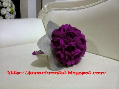 beautiful hand bouquet, artifical flower