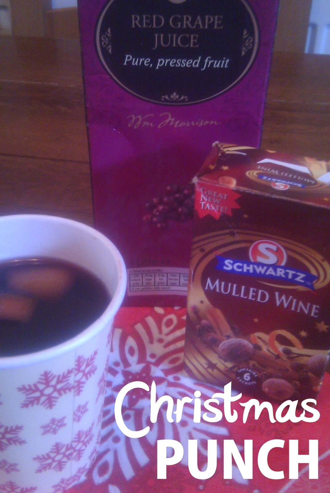 KugAlls: Christmas Punch (Non Alcoholic Mulled Wine)