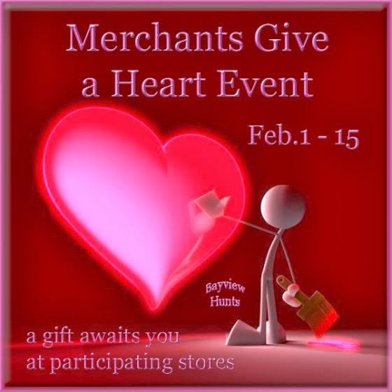 GIve a heart hunt  2/1 to 2/15