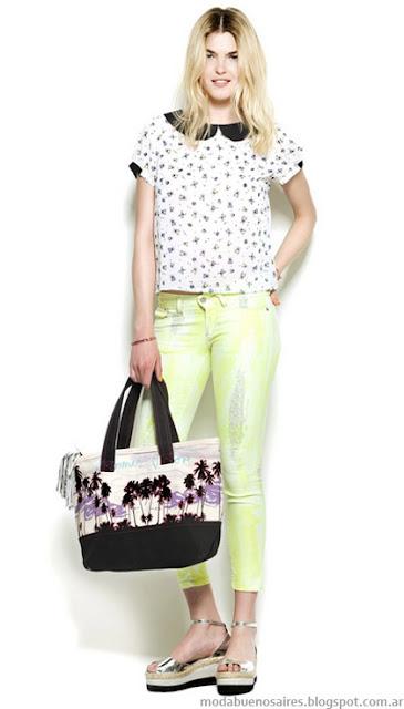 Tonos neon moda 2013 ropa Kosiuko.