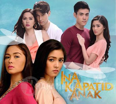 Kantar Media (November 19) TV Ratings: Two Wives Beats Cielo De Angelina, Ina Kapatid Anak Tops Primetime