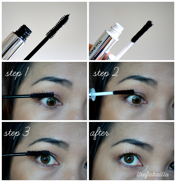 Cherry Blooms Australia Brush on Fibre Eyelash Extension, Review, Before/After Photos