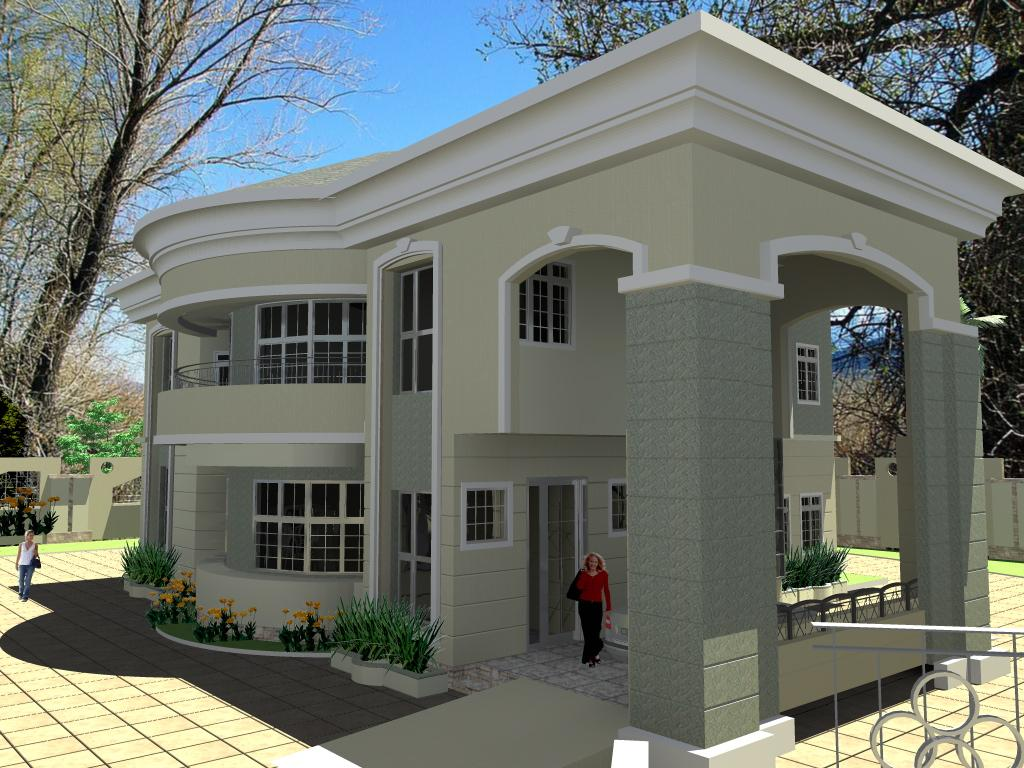 Residential homes and public designs 6 bedroom duplex for Residential house design