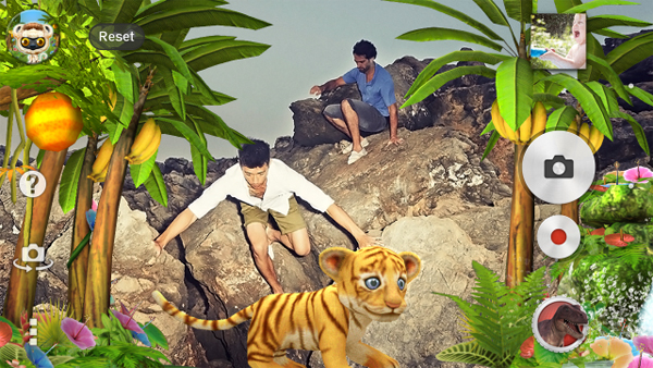 Sony Rilis Jungle AR Effect Untuk Kamera