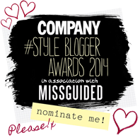 Company Style Blogger Awards 2014