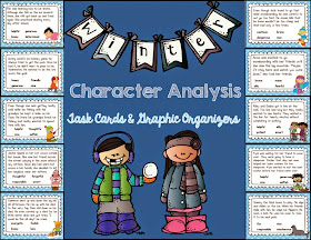 Sarah's First Grade Snippets: All About Characters: Task Cards