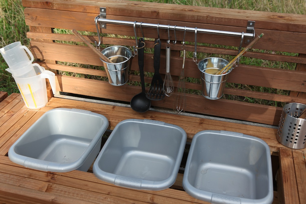 the making of the mud kitchen fazeley pre school. Black Bedroom Furniture Sets. Home Design Ideas