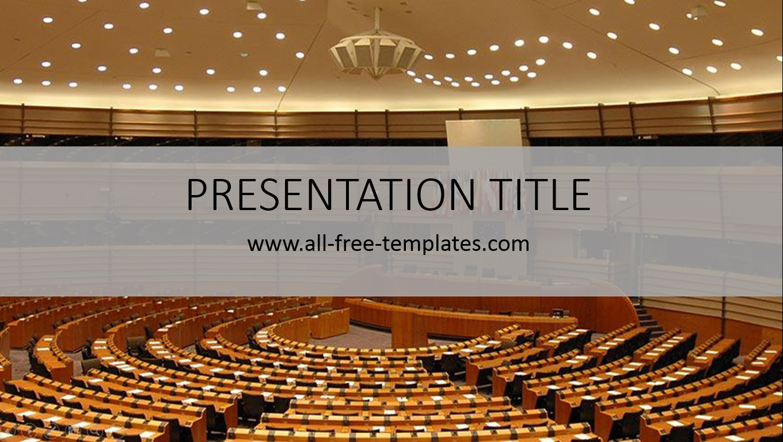 politics powerpoint template ~ all-free-templates, Presentation templates
